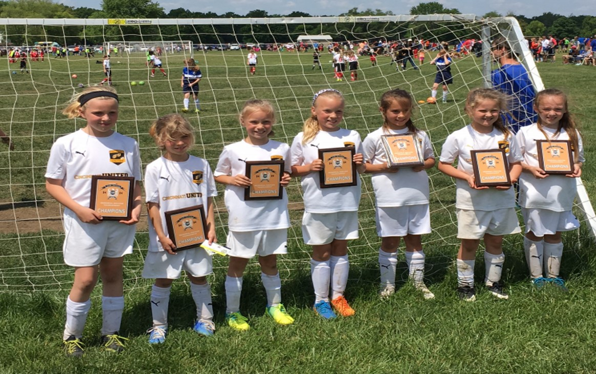 U8 Girls Chelsea end great year with Seth Stevens Tournament Championship